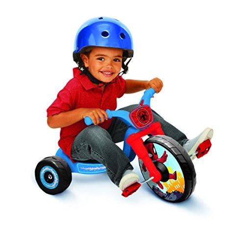 Spider-Man Adventures 10' Fly Wheels Junior Cruiser Ride-On, Ages 2-4