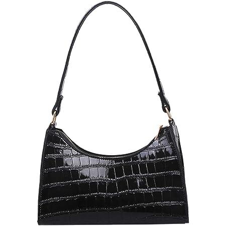 KANUBI Y2k Bag,Umhängetaschen, Handtaschen, Kupplungen, Brieftaschen unter den Armen, Umhängetaschen, All-Match-Umhängetasche für Damenhandtaschen aus Puderleder mit Krokodilmuster