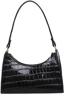 OKUGAIYA Unterarmtasche für Damen, Damen Umhängetasche Schultertaschen für Damen PU, Mode PU-Leder Alligator Muster Hobos ...