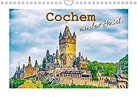 Cochem - an der Mosel (Wandkalender 2022 DIN A4 quer): Eine spannende Fotoreise mit bekannten Sehenswuerdigkeiten von Cochem. (Monatskalender, 14 Seiten )