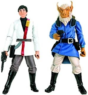 Star Wars 2009 Comic Book Action Figure X-Wing Rouge Squadron 2-Pack Borsk Fey'la and Wedge Antilles