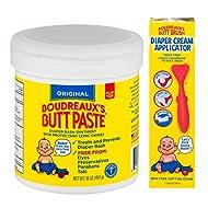 Original Boudreaux's Butt Paste Diaper Rash Ointment, 2 oz and 16 oz Bundle