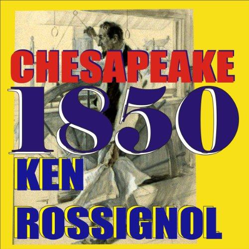 Chesapeake 1850 audiobook cover art