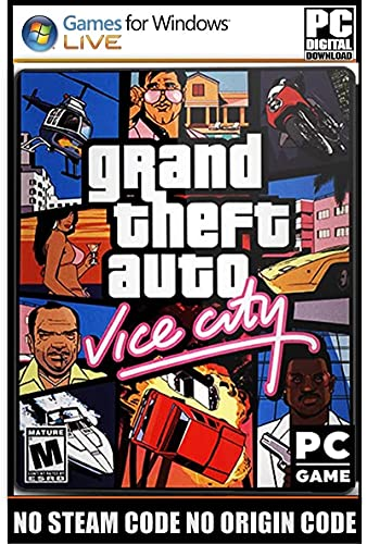 G-T-A- VCity – Digital Download – [ NO DVD NO CD – NO ONLINE MULTIPLAYER MODE ] – Full PC Game