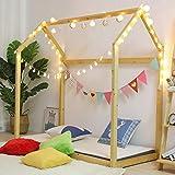 Walnest House Bed Frame Children Toddler Bed Bedroom Furniture with Mattress