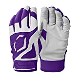 EvoShield Srz 1 Batting Glove - Purple, Youth Large