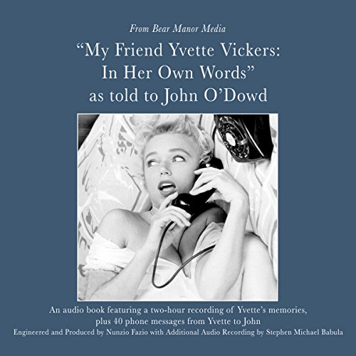 My Friend, Yvette Vickers cover art