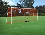 GOLME PRO Training Soccer Goal 8x24 Ft. - Full Size Ultra Portable Soccer Net
