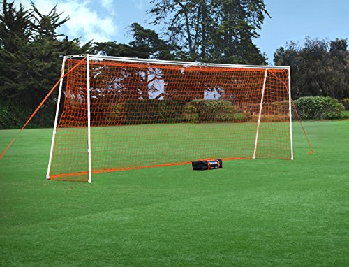 GOLME PRO Training Soccer Goal - Full Size Ultra Portable Soccer Net