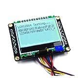 LCM12864 Module LCD Carte LCM Affichage Électronique Blocs De Construction Pour Arduino