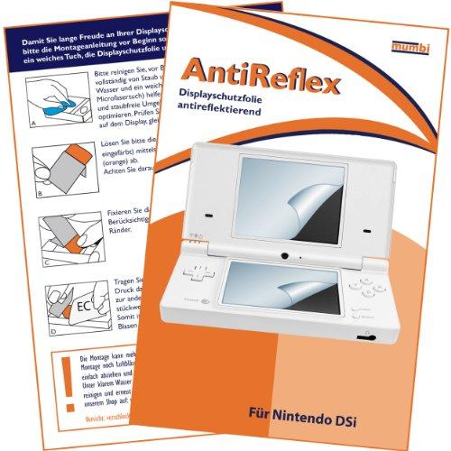 mumbi Schutzfolie kompatibel mit Nintendo DSi Folie matt, Displayschutzfolie (4X)