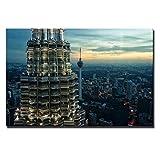 Knncch Kuala Lumpur Twin Towers Poster Und Drucke Malaysia