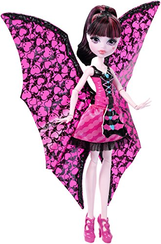 Monster High DNX65 - Fledermaus Draculaura, Ankleidepuppe