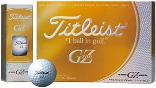 TITLEIST(タイトリスト) ゴルフボール GRANZ 1ZGPJ 1ダース(12個入り) プレミアムゴールドパール