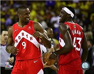Serge Ibaka & Pascal Siakam Toronto Raptors 2019 NBA Finals Celebration Photo (Size: 20