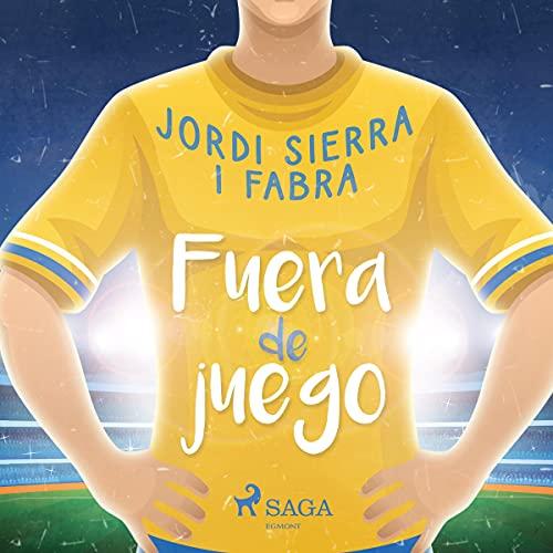 Diseño de la portada del título Fuera de juego