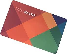 Color - Tarjeta Bloqueo RFID/NFC por thinkQ concept®; Protección Activa de tu Tarjeta; Protección Inalámbrica de Fraude; Encaja Fácilmente Y Protege Toda Tu Billetera; Sin Mangas de Bloqueo RFID