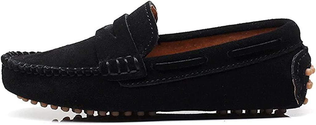 Suede Leather Loafers Shoes S8884