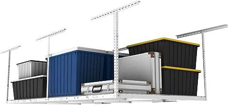 FLEXIMOUNTS 2-Piece Overhead Garage Storage Rack Set Adjustable Ceiling Storage Racks, 96