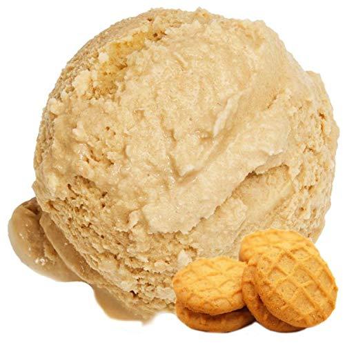 Butterkeks Cookie Geschmack Eispulver Softeispulver 1:3 - Softeismaschine Party Kinder