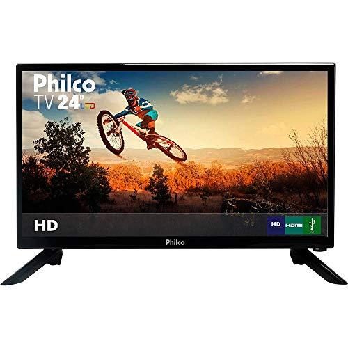 TV LED 24' Philco PH24N91D HD com Conversor Digital 1 HDMI 1 USB