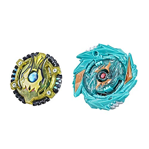 BEYBLADE Burst Surge Speedstorm Demise Satomb S6 and Anubion A6 Spinning Top Dual Pack -- 2 Battling Game Top Toy for Kids Ages 8 and Up
