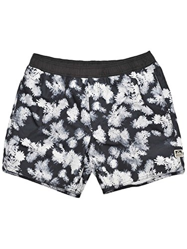 Reef Herren Badehose Rivers Volley, Black, L