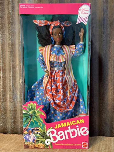 MATTEL BARBIE poupée du monde dolls of the world costume traditionel JAMAICAN jamaique jamaicaine COLLECTION 1991