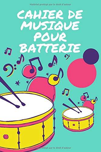 cahier de musique pour batterie: Carnet de partitions | Papier manuscrit|Gagner du temps | 7 tablatures et 6 diagrammes d'accords par page |Haute ... les étudiants, amateurs et professionnels.