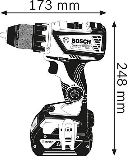Bosch Professional 06019G110A GSR 18V-60 C, 1/2_pollice