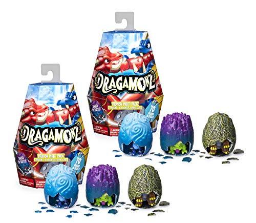Dragamonz, Set of 2 Dragon Multi 3-Pack, Collectible Figure and...