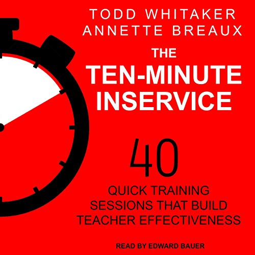 Page de couverture de The Ten-Minute Inservice
