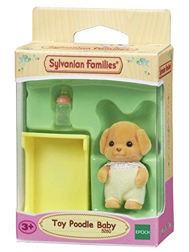 Sylvanian Families 5260 Toy-Pudel Baby - Figuren für Puppenhaus