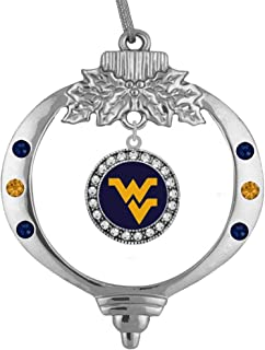 University of West Virginia Christmas Ornament