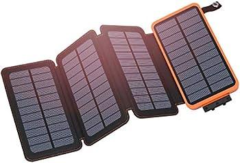 Hiluckey 25000mAh Solar Power Bank