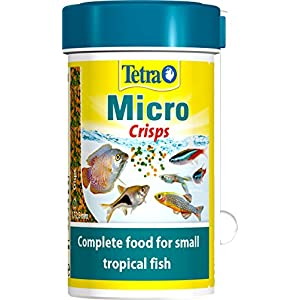 Tetra Micro Crisps Complete Fish Food For Small Tropical Fish, 100 ml