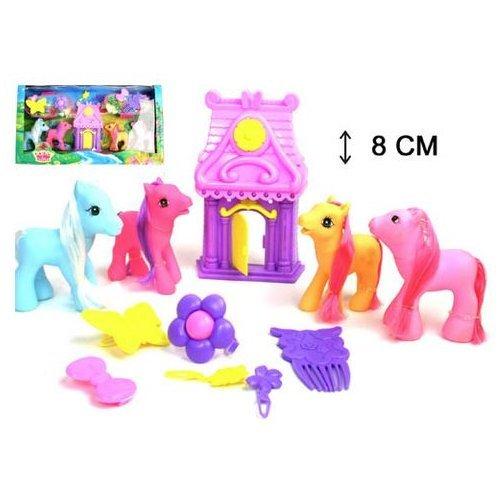 Pony Ponyspielset Haus Zubehör