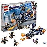 LEGO Marvel Super Heroes Captain America et l'attaque des Outriders Jeu 6 Ans et Plus, 167 Pièces  76123
