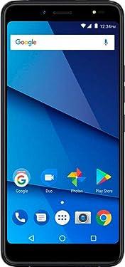 BLU - Vivo One Plus with 16GB Memory Smart Phone (GSM Unlocked) - Black (Renewed)