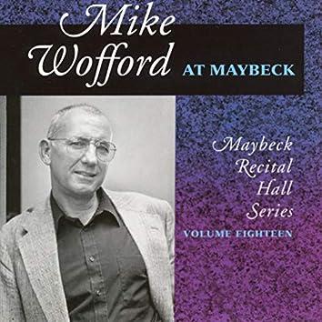 The Maybeck Recital Series, Vol. 18