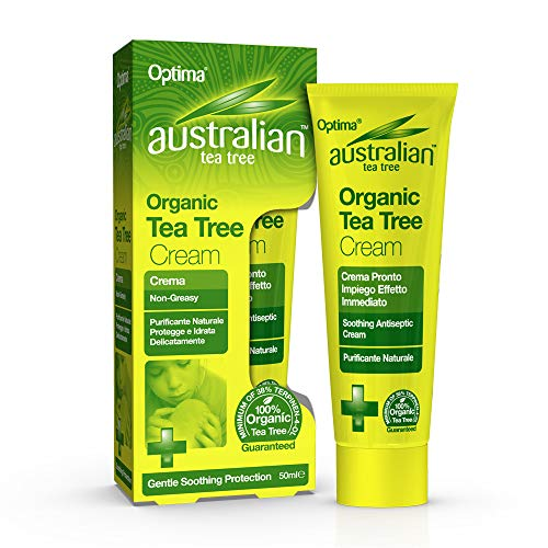 Australian Tea Tree Organic Antiseptic Cream 50ml