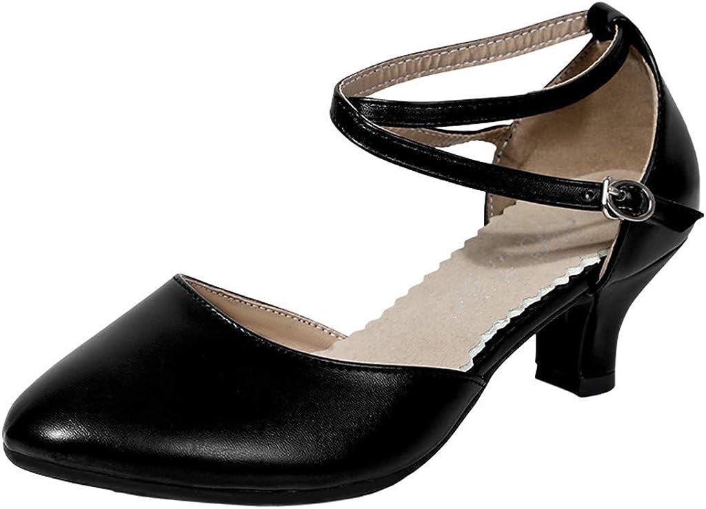 Womens Ballroom Dance Shoes Sequins Shoes Fashion Party Tango La