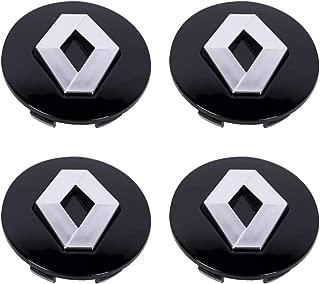 Gitcar Juego de Tapas de Repuesto para 4 Tapas de Cubo de 60 mm compatibles con Llantas de aleaci/ón