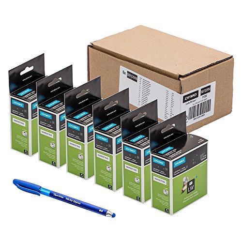 6 x Dymo S0722550, 500er-Packung...