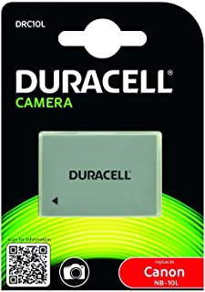 Duracell DRC10L - Batería para cámara Digital 7.4 V 820 mAh (reemplaza batería Original de Canon NB-10L)