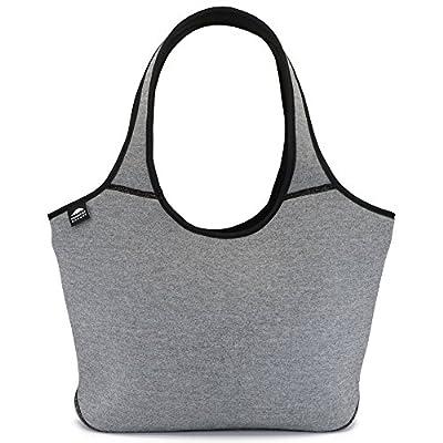 Multifunctional Large Neoprene Beach Bag   Zipper   Flexible   Washable   Baby