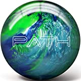Pyramid Path Bowling Ball (Blue/Light Blue/Lime Green, 8 LB)