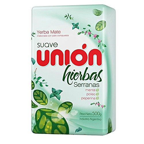 Yerba Mate Unión Suave 500g Hierbas Serranas