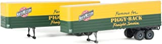 Walthers HO Scale 35' Fluted-Side Trailers 2-Pack Chicago & North Western/C&NW