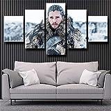 QWASD Game of Thrones Die Krähe kommt über Jon Snow